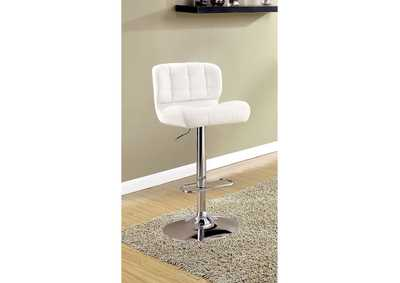 Image for Kori White Bar Chair
