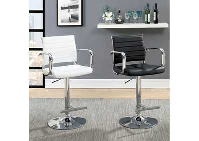 Image for Sedona Black Leatherette Swivel Bar Stool w/Adjustable Height