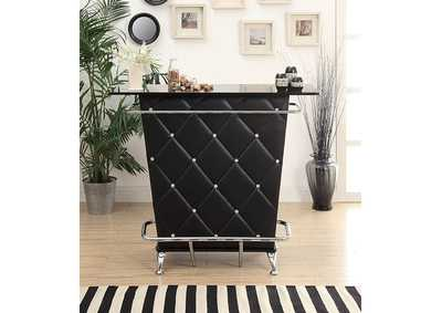 Image for Fuero Black Bar Table