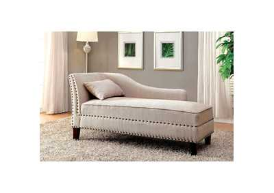 Image for Stillwater Beige Chaise w/Pillow