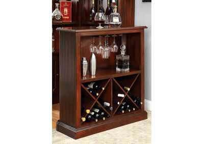 Image for Voltaire Dark Cherry Standing Bar Table