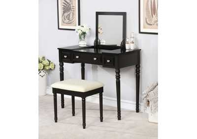 Image for Baylee Black Vanity Set