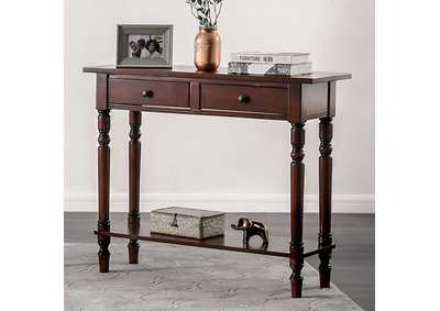 Image for Calle Cherry Server w/2 Drawers & Open Shelf