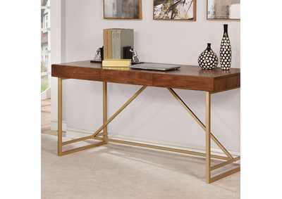Image for Halstein Light Walnut Desk