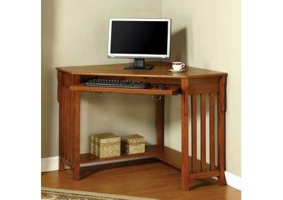 Toledo Medium Oak Corner Desk