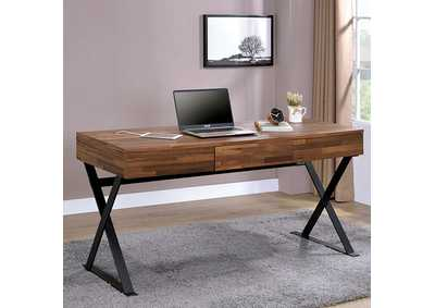 Image for Tensed Sand Black Desk w/Drawers