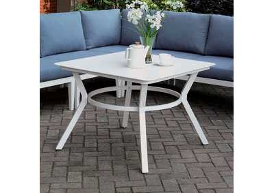 Sharon White Patio Table