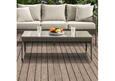 Image for Aleisha Gray Patio Coffee Table
