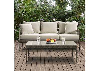 Image for Aleisha Gray Patio Sofa