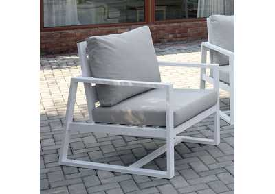 Image for India Beige Patio Arm Chair
