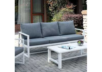 India Gray Patio Sofa
