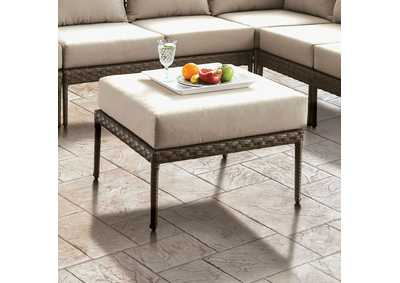 Image for Aleisha Gray Patio Ottoman
