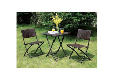 Image for Seren Espresso 3 Piece Patio Set