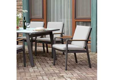 Image for Alycia White Patio Table