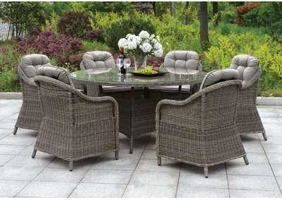"Image for Canistota Gray 47"" Patio Table"