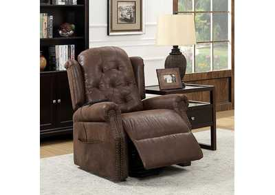 Image for Saco Brown Recliner