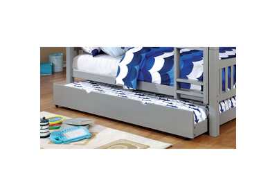 Image for Omnus Gray Twin Trundle