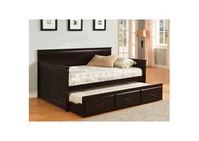 Image for Sahara Espresso Daybed w/ Trundle