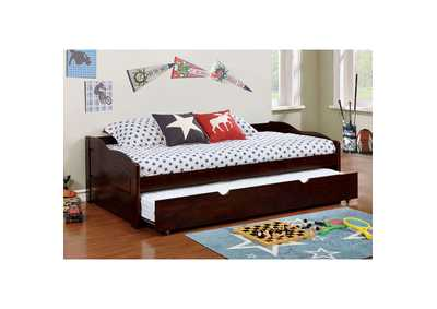 Image for Sunset Espresso Twin Daybed w/Trundle
