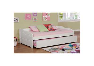 Image for Sunset White Twin Daybed w/Trundle