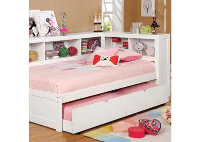 Frankie White Twin Daybed