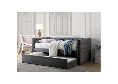 Susanna Gray Daybed w/ Trundle,Furniture of America