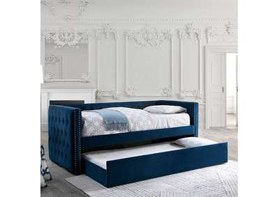 Susanna Navy Daybed w/Trundle