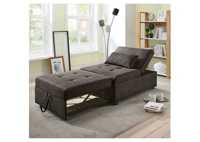 Oona Dark Gray Futon Sofa