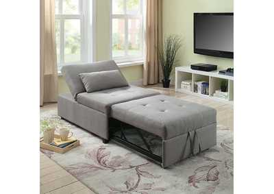 Image for Oona Gray Futon Sofa