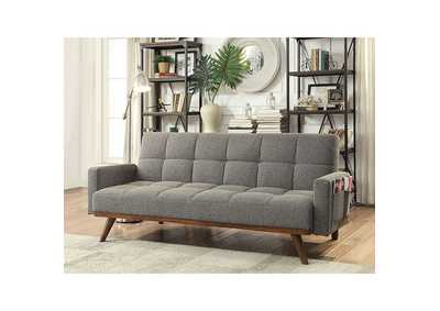 Nettie Gray Futon Sofa