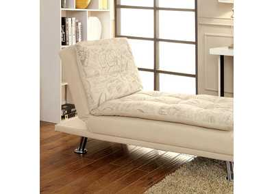 Image for Hauser White Chaise