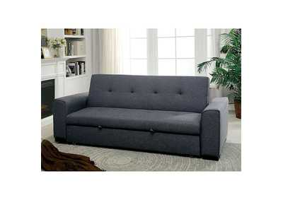 Image for Reilly Gray Futon Sofa