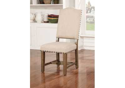 Image for Julia Light Oak Side Chair (Set of 2)