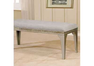 Diocles Silver Bench,Furniture of America