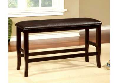 Image for Woodside ll Espresso Counter Height Bench