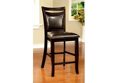 Image for Woodside II Espresso Counter Height Chair (Set of 2)