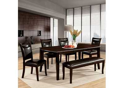 Image for Woodside Dark Cherry Dining Table