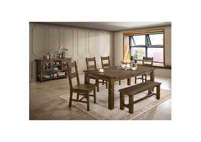 Image for Kristen Rustic Oak Server