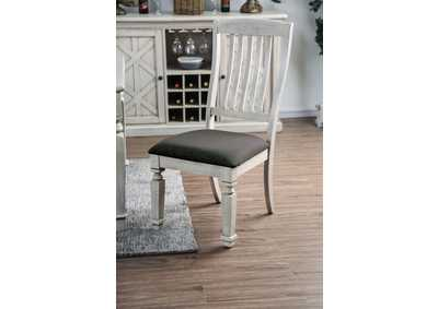 Image for Georgia Antique White Side Chair (Set of 2)
