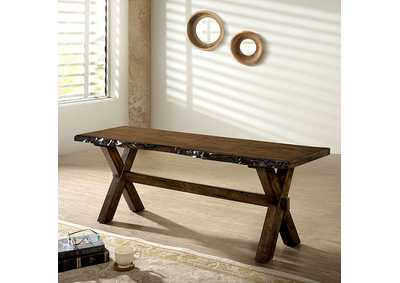 Image for Woodworth Walnut Bench