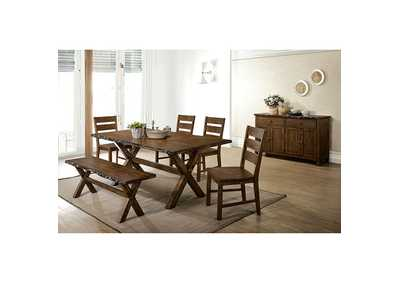 Woodworth Brown Dining Table