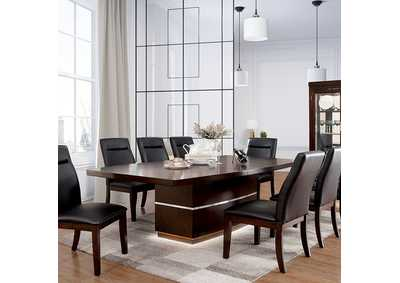 Image for Lawrence Dark Cherry Dining Table
