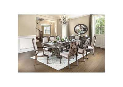 "Arcadia Rustic Dining Table w/18"" Leaf"