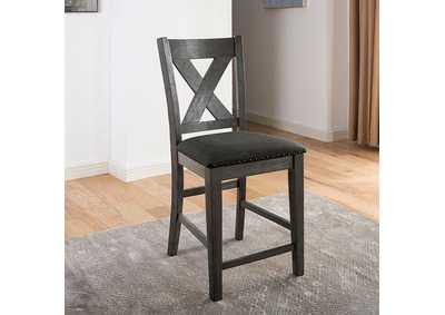Image for Lana Gray Counter Height Chair [Set of 2]