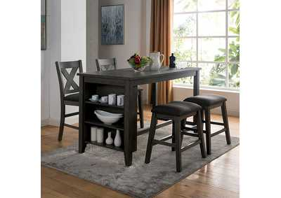 Image for Lana Gray Counter Height Table