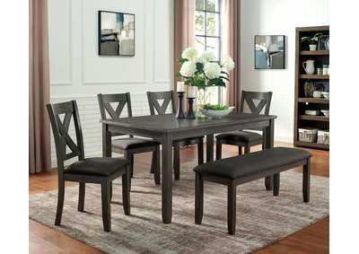 Image for Cilgerran Gray Dining Table
