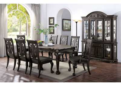 Petersburg Dark Gray Dining Table