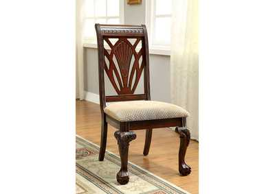 Image for Petersburg l Cherry Side Chair (Set of 2)