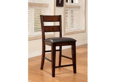 Image for Dickinson Dark Cherry Counter Height Chair [Set of 2]