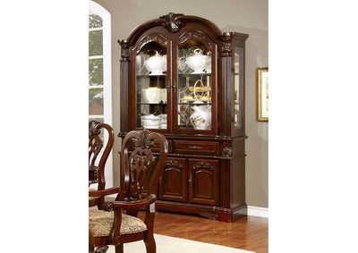 Image for Elana Brown Cherry Hutch & Buffet